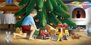 Gifts For Christmas Stock Photography