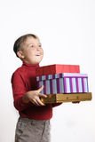 Gifts Galore Royalty Free Stock Photos