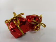 Gifts gif red box birthday christmas decoration xmas Stock Photography