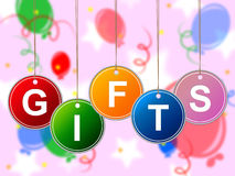 Gifts Gift Means Package Surprises And Celebrate Royalty Free Stock Photos