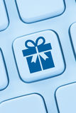 Gifts gift present online shopping ordering internet shop stock image