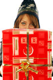 Gifts gifts gifts Stock Images