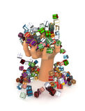 Gifts, Hand View 2 Royalty Free Stock Photography