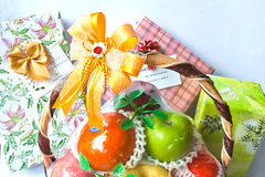 Gifts for happiness Stock Images