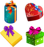 Gifts for holidays Royalty Free Stock Photography