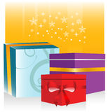 Gifts illustration Royalty Free Stock Images