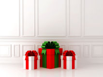 Gifts in the interior Royalty Free Stock Images