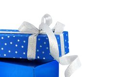 Gifts / isolated / clipping path. Gifts / isolated / with hand made clipping path Stock Photos