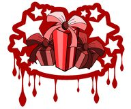 Gifts label Stock Photography