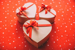 Gifts with love. Royalty Free Stock Photos