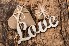 Gifts for love Royalty Free Stock Images