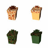 Gifts - Military 3 Royalty Free Stock Photo