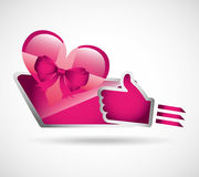 Gifts online design. Illustration eps10 graphic Royalty Free Stock Image