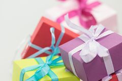 Gifts, Packages, Made, Loop Stock Image