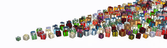 Gifts, Point Royalty Free Stock Photos
