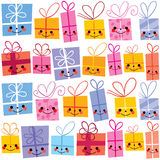 Gifts present boxes Royalty Free Stock Photo
