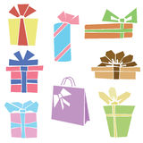 Gifts and presents Stock Photo