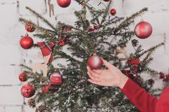 Gifts and presents in hands Royalty Free Stock Photo