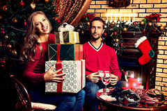 Gifts and presents Royalty Free Stock Image