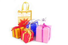 Gifts presents Royalty Free Stock Photo