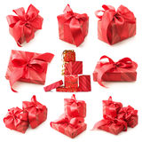 Gifts set Stock Photography