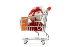 Gifts shopping Stock Photography