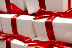 Gifts Special Occasion. Gift wrapped boxes for a special occasion like valentine's day, someone's birthday or anything else Stock Image