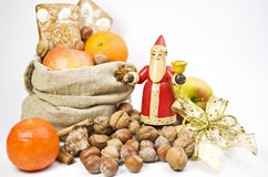 Gifts on St. Nicholas Day Stock Photo