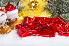 Gifts for St. Nicholas Stock Photography
