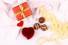 Gifts for St. Valentine Day Stock Photo