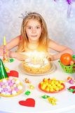 Gifts and sweets Royalty Free Stock Photos