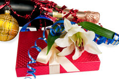 Gifts to Christmas Royalty Free Stock Image