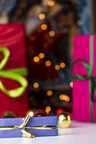 Gifts and twinkles Royalty Free Stock Images