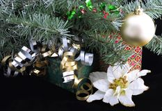 Gifts Under Christmas Tree Royalty Free Stock Images