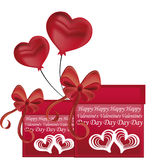 Gifts for valentines day Royalty Free Stock Photos