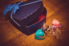 Gifts for Valentine's day Stock Photography