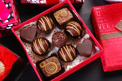 Gifts for valentines Royalty Free Stock Photo