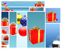 Gifts Web Banner Design Stock Photo
