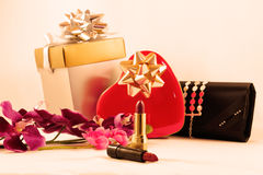 Gifts for woman Stock Images