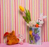 Giftspeelgoed voor verjaardag Stock Foto