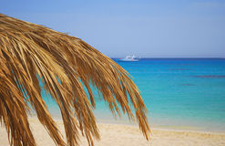 Giftun island in Egypt stock photography