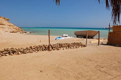 Giftun Island. Egypt, Hurghada, view from Giftun Island Stock Photography