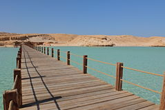 Giftun Island. Egypt, Hurghada, view from Giftun Island Royalty Free Stock Images