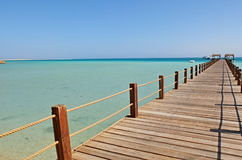 Giftun Island. Egypt, Hurghada, view from Giftun Island Stock Images