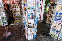 Giftwinkel op strand heilige-Guirec van perros-Guirec Royalty-vrije Stock Afbeeldingen
