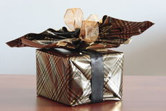 giftwrapping Royaltyfria Foton