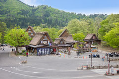 GIFU,JAPAN - 10 Mayl,2015 : Shirakawago Declared a UNESCO world heritage site in 1995, Shirakawago is famous for their traditional Royalty Free Stock Images