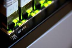 gigabit ethernet σύνδεση στοκ εικόνες