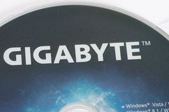 Gigabyte Technology royaltyfri bild