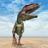 Giganotosaurus de dinosaure Photos libres de droits